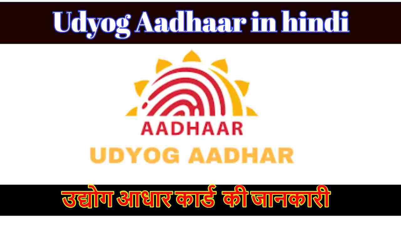 उद्योग आधार रजिस्ट्रेशन एवं इसके लाभ की जानकारी | Udyog Aadhaar registration benefits information in hindi